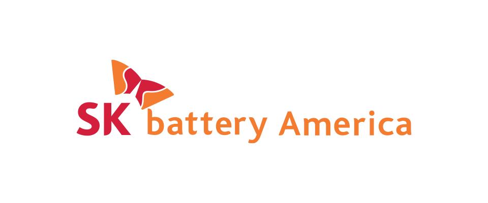 SK battery America logo