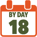 By Day 18