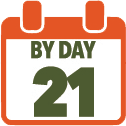 By Day 21